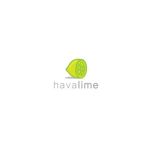 "Logo concept for ""HavaLime"""
