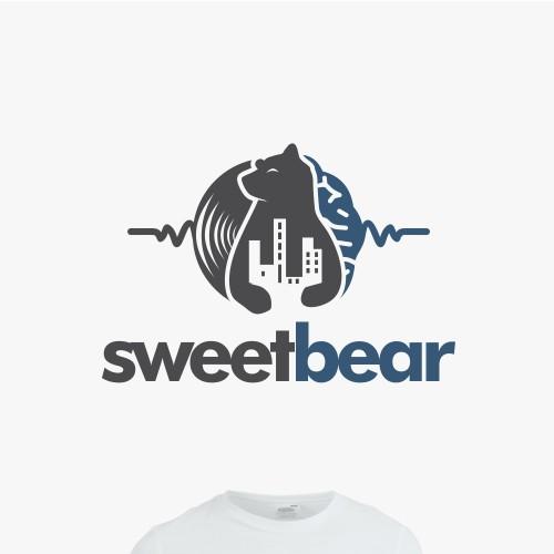 "Music & Comedy Bear logo for ""sweetbear"""