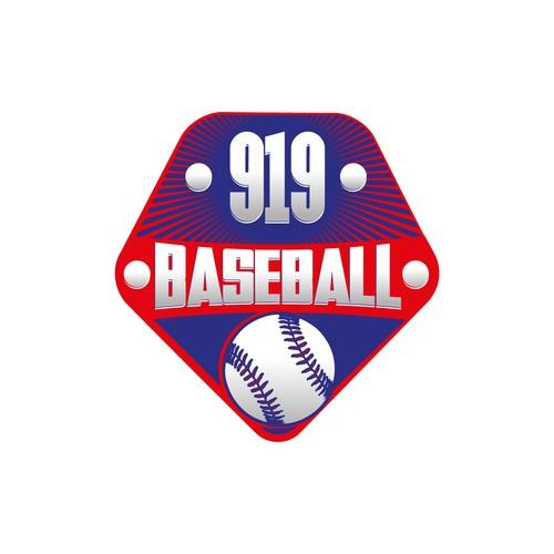 919 Baseball Logo