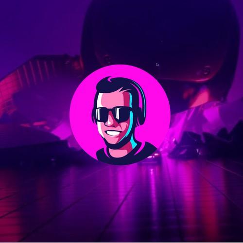 Twitch Streamer Brand Logo