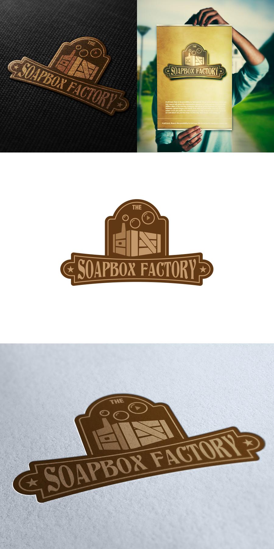 The Soapbox Factory needs a new logo