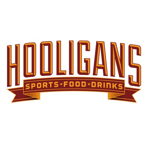 Logo for Hooligans Sports Bar