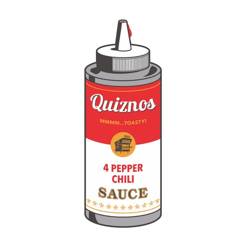 Pop Art Bottle Sauce
