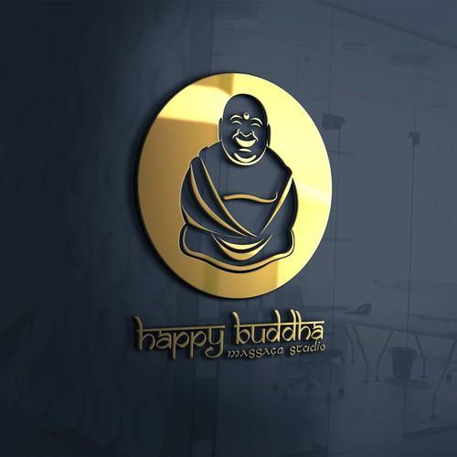 Happy Buddha Massage Studio LOGO