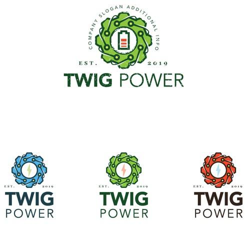 Logo for an alternative propulsion motor company