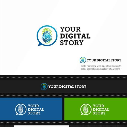 Logo for digital marketing company