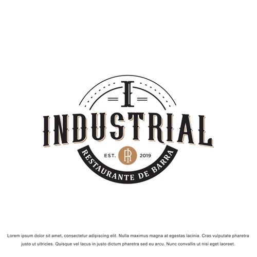 Busco logo vintage para restaurante pero que la letra sea lo potente del logo, el local es vintage