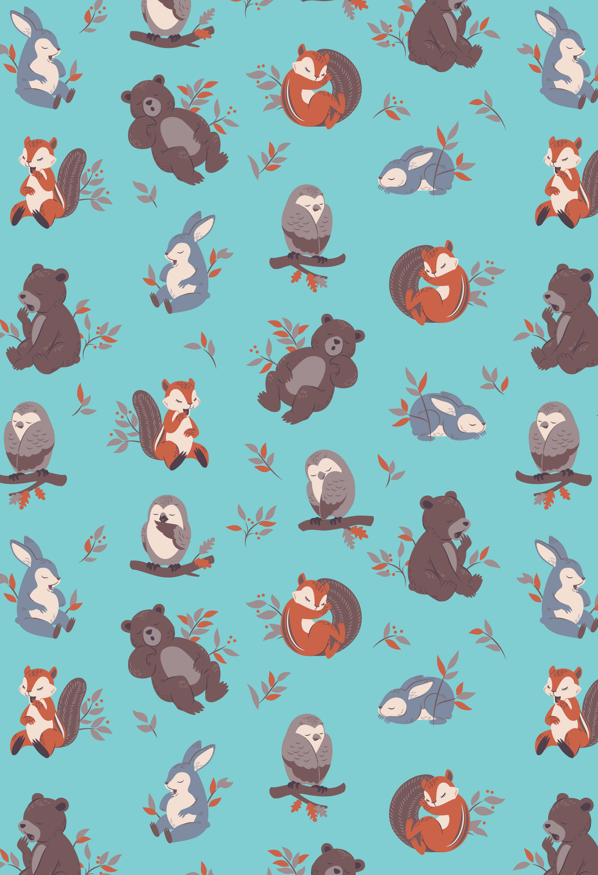 Kids' Weighted Blanket Print