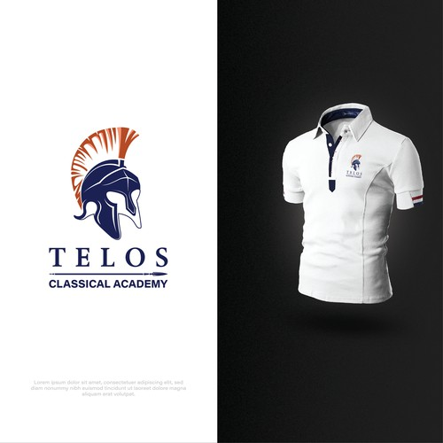 Bold logo concept for TELOS Classical Academy