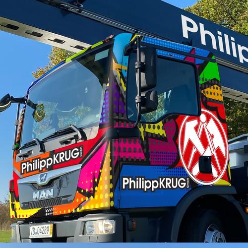 Truck design for Philipp KRUG