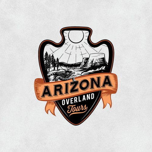 Bold Logo design for Overlanding tours business