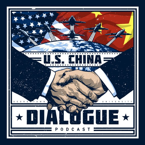 Propaganda-Style Cover Art for a Podcast