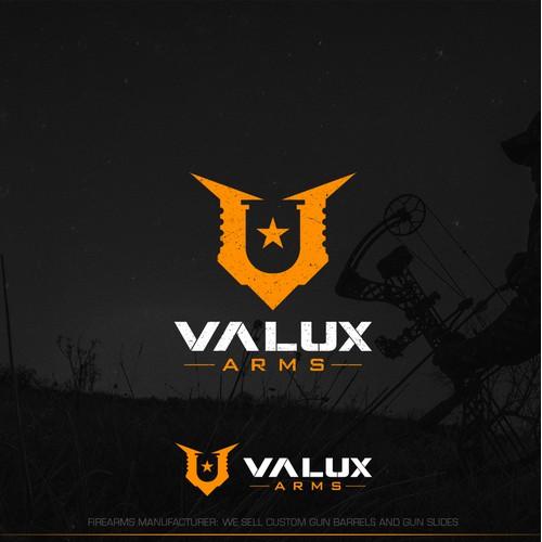 Logo design for Valux Arms