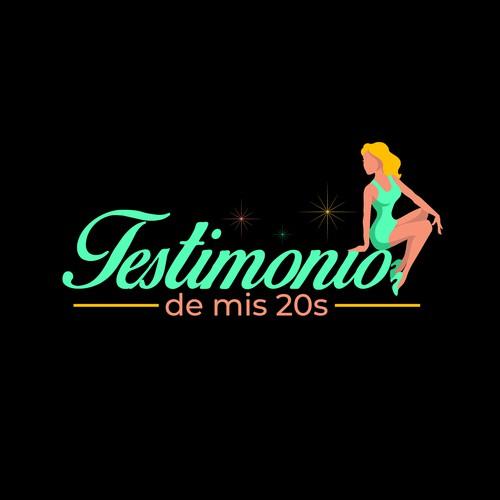 Logo design for Testimonio de mis 20s