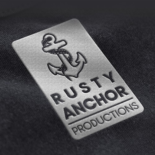 """Logo Concept for """"RUSTY ANCHOR PRODUCTION"""""""