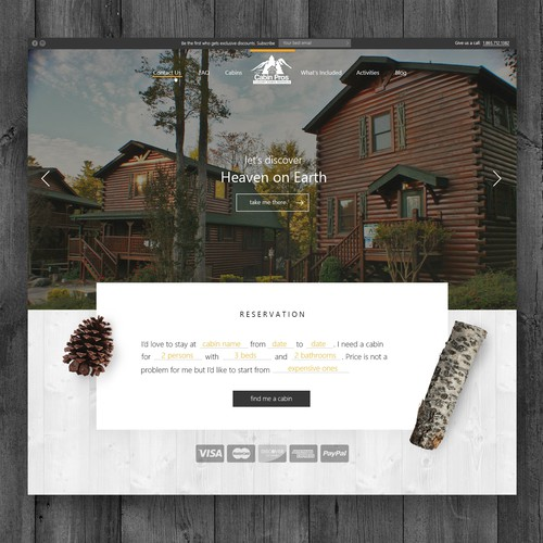 The Cabin Pros | Website Design and UX