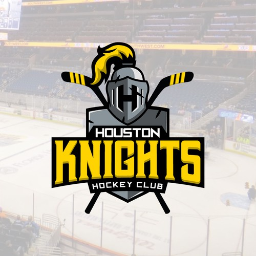 Finalista concurso da marca para time de hockey de Houston, EUA