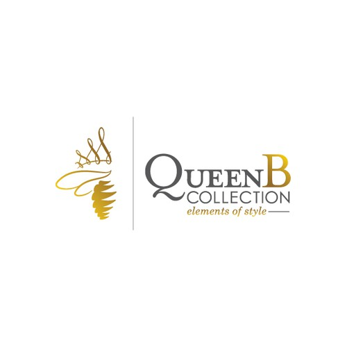 Help QueenB Collection with a new logo and business card
