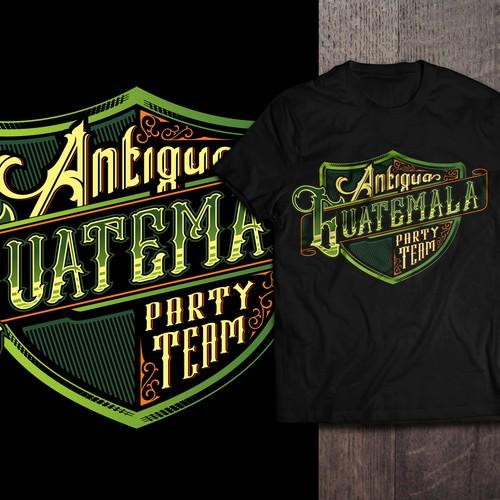 Vector Emblem T-Shirt Design