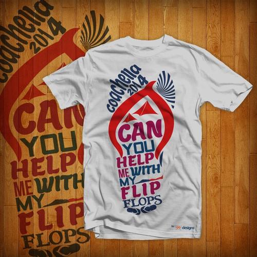 Tshirt for Coachella Music Festival and 99designs!!