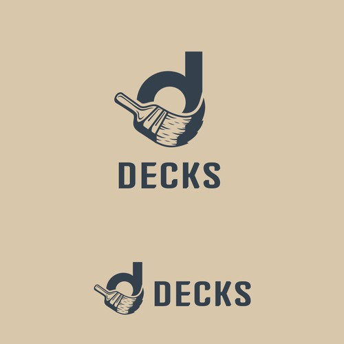 Vintage Logo for Decks