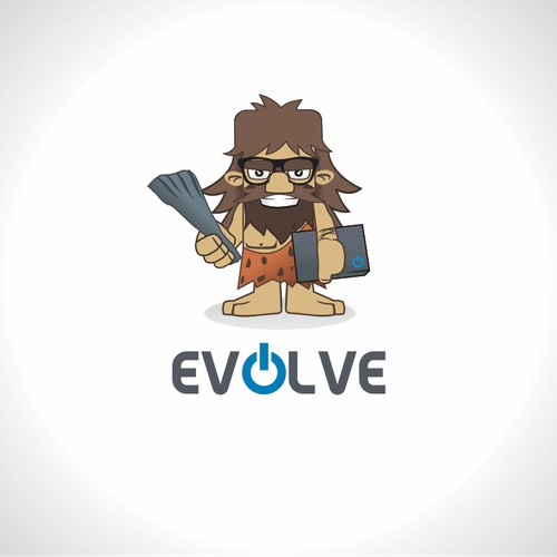 Character and logo design for Evolve