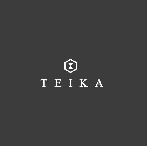 Teika logo for new wach brand.