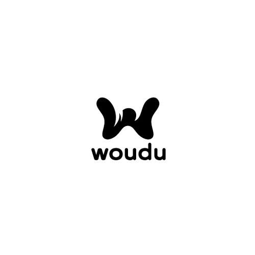 Create a logo for Woudu, a new mobile app for social events