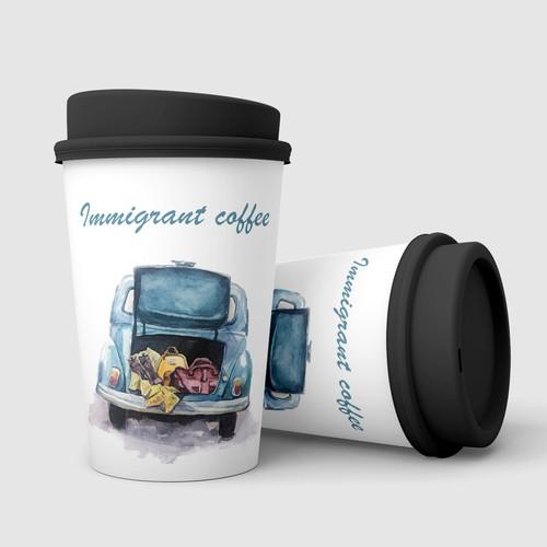 Illustration for coffee mug