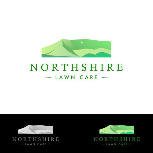 Logo design for Northshire Lawn Care