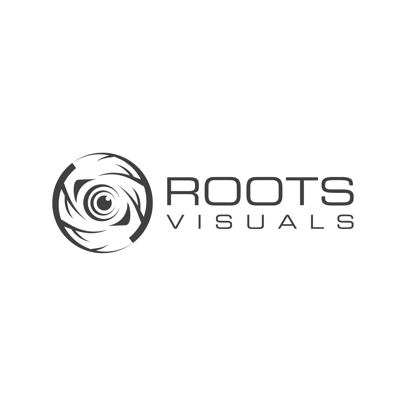 Design a next level logo for Roots Visuals