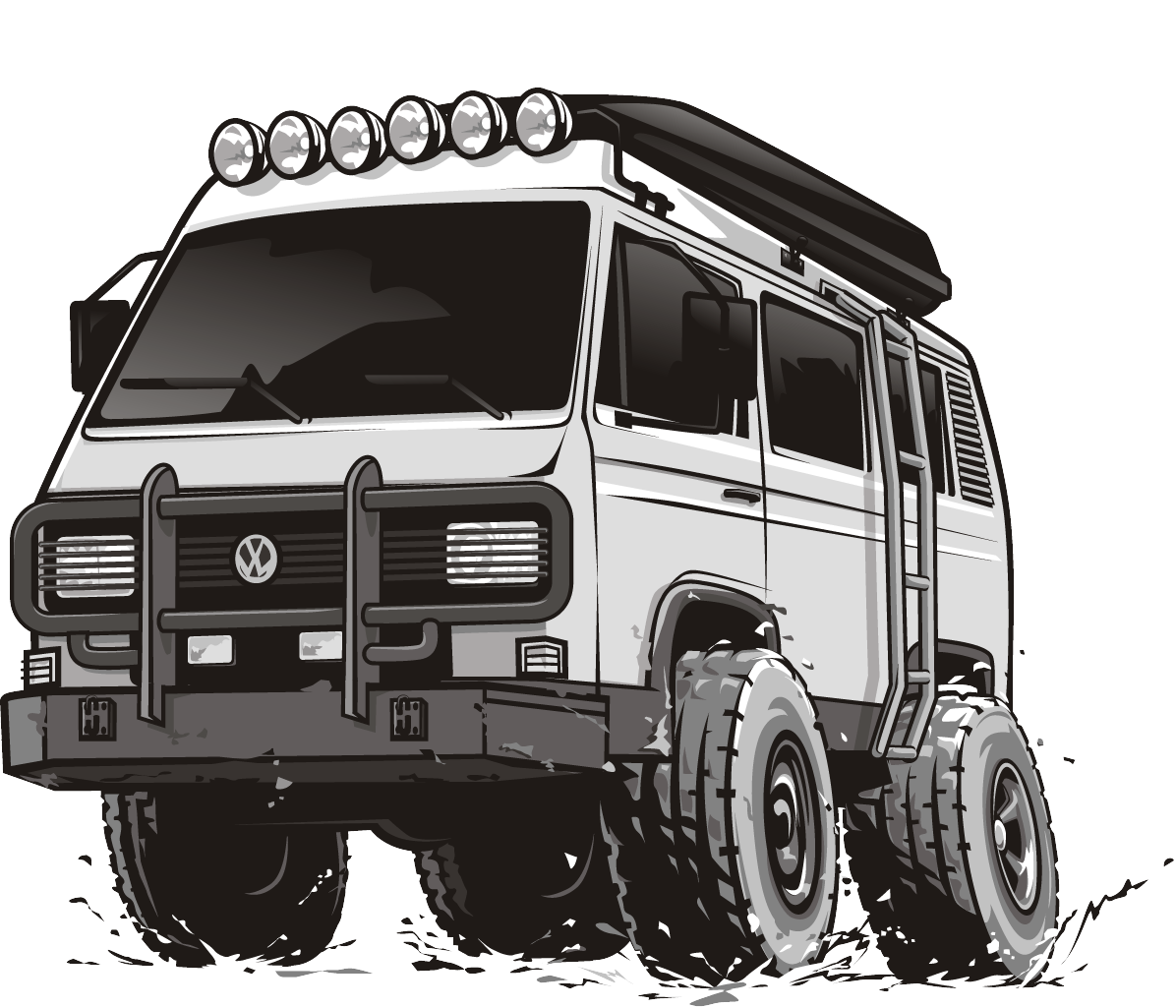 HotRod Style Vans (2 Manufacturers)