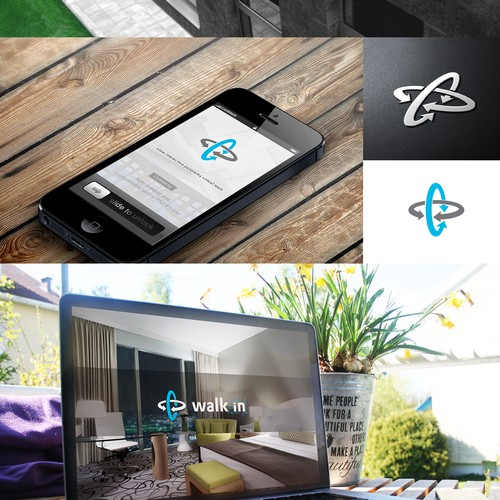 Create a logo for high tech panorama photographer