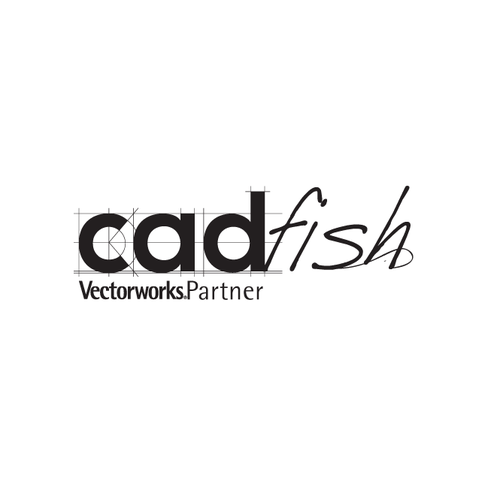 "Logo-design: ""cadfish""  (sales office for CAD-software)"