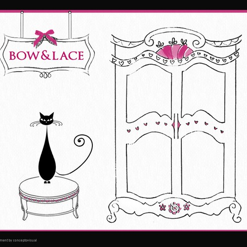 BOW & LACE WEBSITE