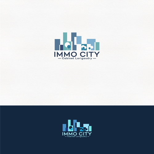 Immo City Logo Design