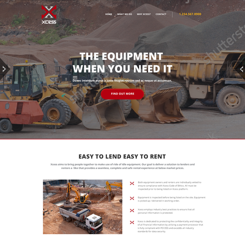 Xcess Heavy Equipment Rentals