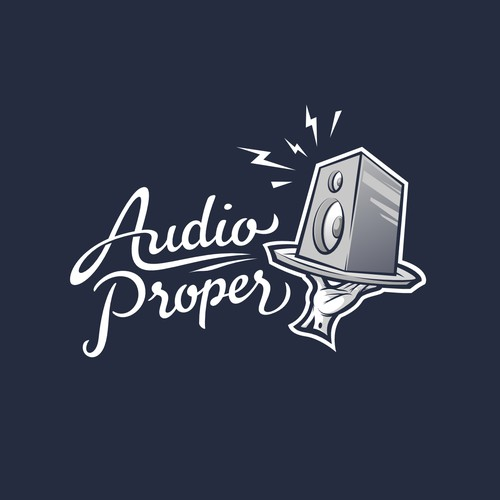 Fresh logo for audio brand