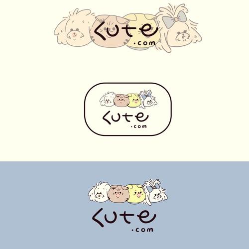 Cute pets logo