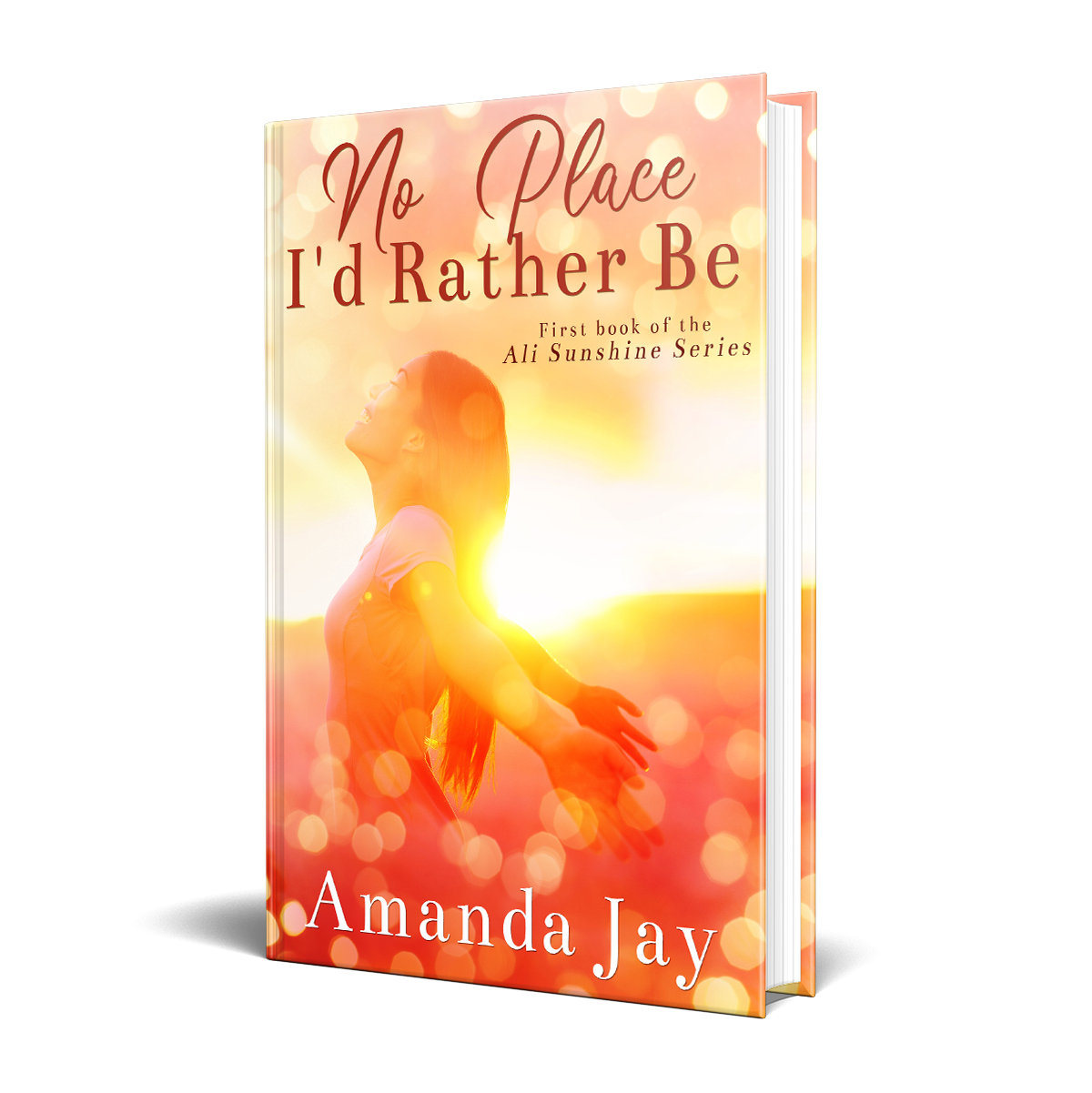 Fabulous spiritual/chick lit ebook cover for the 1st in a series of international bestsellers.