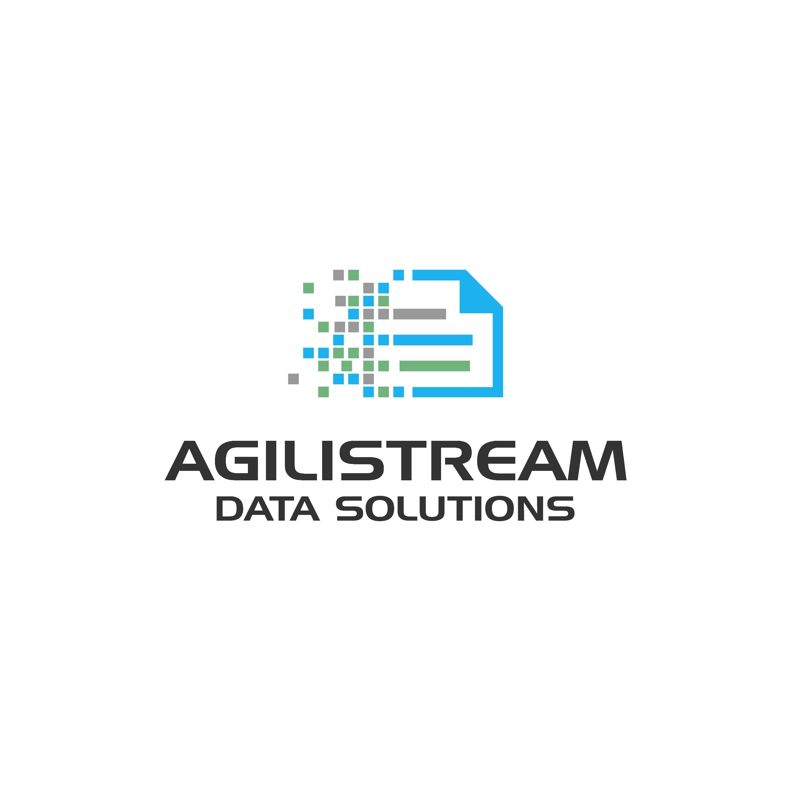 Design a logo and business card for Agilistream Data Solutions