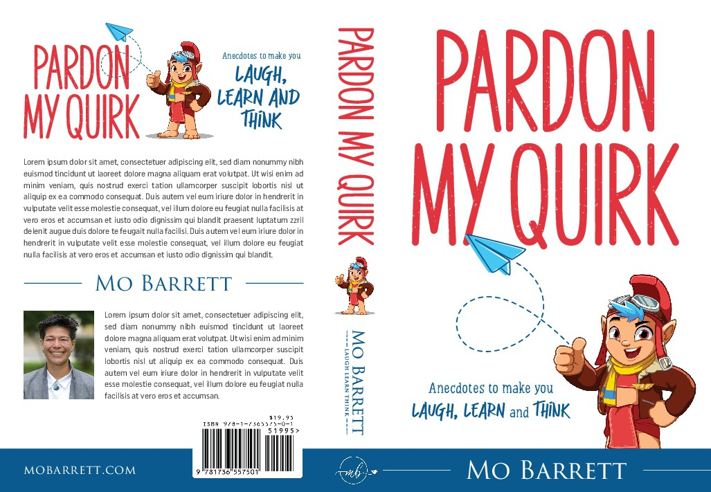 Cover for book on funny stories from a nonconformist in the airforce