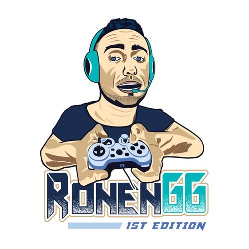 Gaming T-Shirt Design