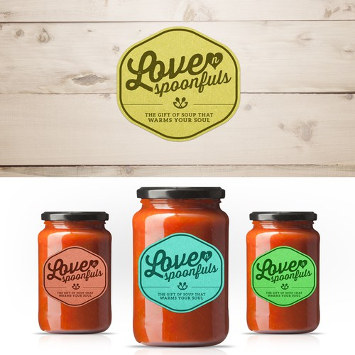 Fun Food Company Branding Appetizer that Will Lead to a Full 5 Course Design Meal!