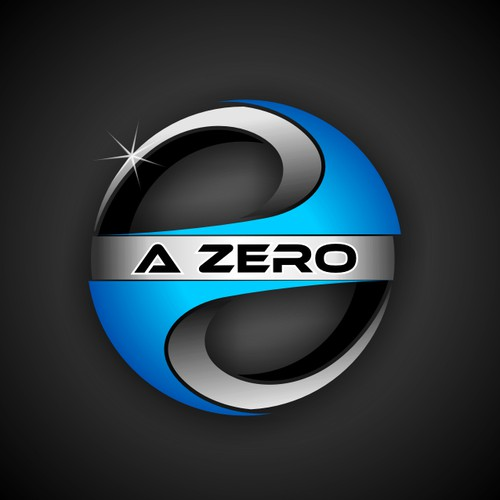 Create a cool logo for new company called A Zero