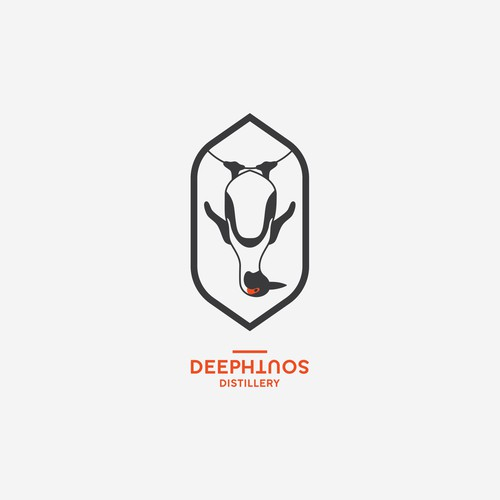 Logo for craft distillery in South Africa