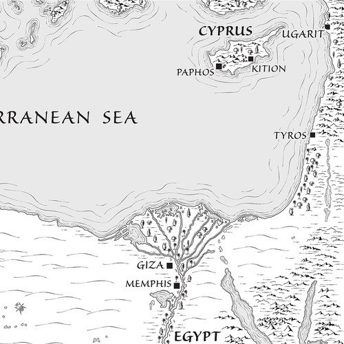 Map for Fantasy Novel