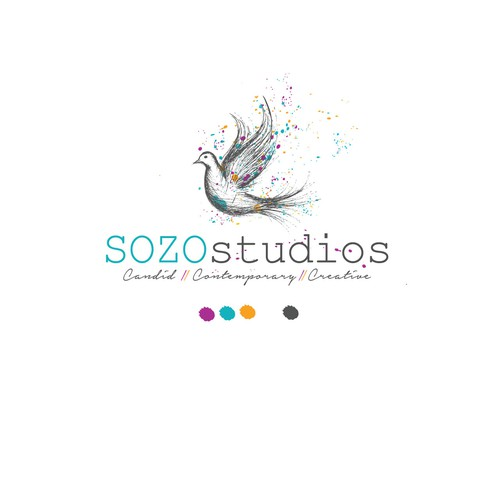 Logo for Sozo Studios photography studio
