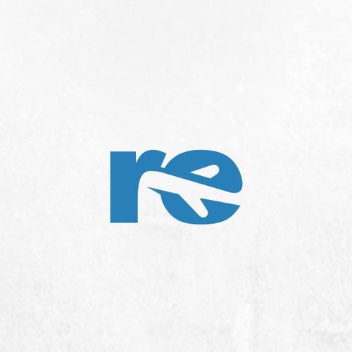 re travel logo
