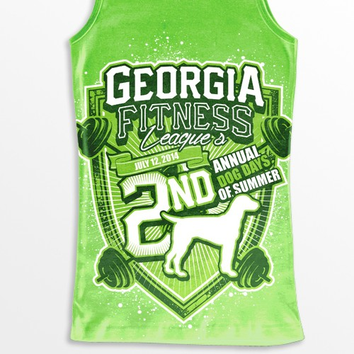 Engaging image for Georgia Fitness League crossfit competition: 2nd Annual Dog Days of Summer